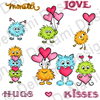 DeNami Design Monster Love Clear Stamp Set
